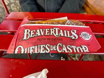 Nutella BeaverTail