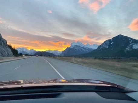 Sunrise in Lake Louise